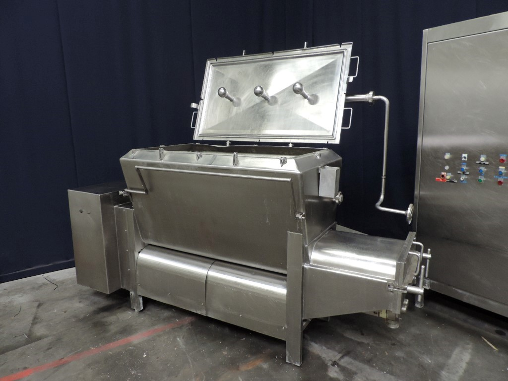 Kustner Mixing vat Smeltkaas machines