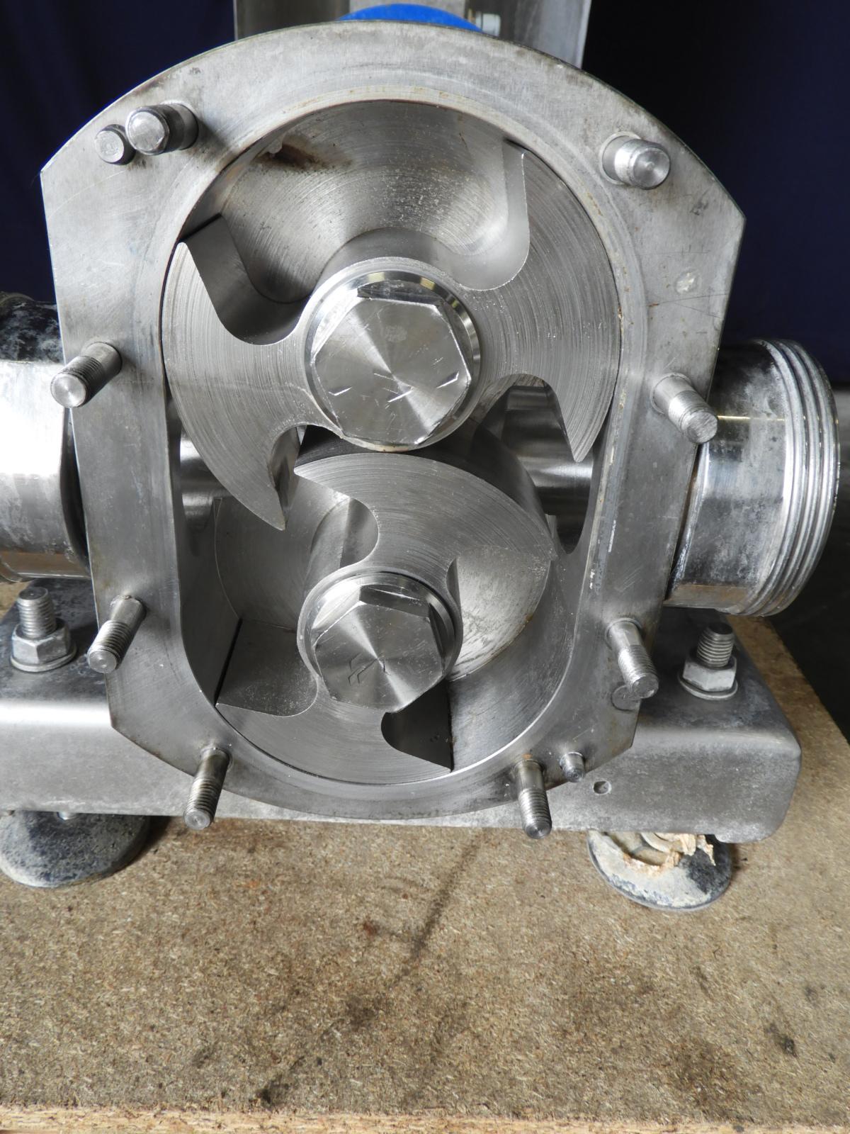 OMAC B325 5250 EH Lobe rotary pumps