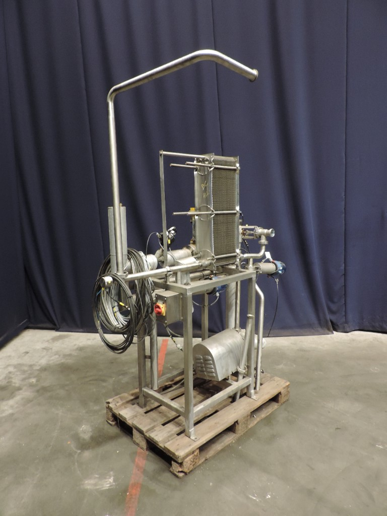 Tranter GCP-028-11-4-7-97 Plate heat exchangers not sanitary