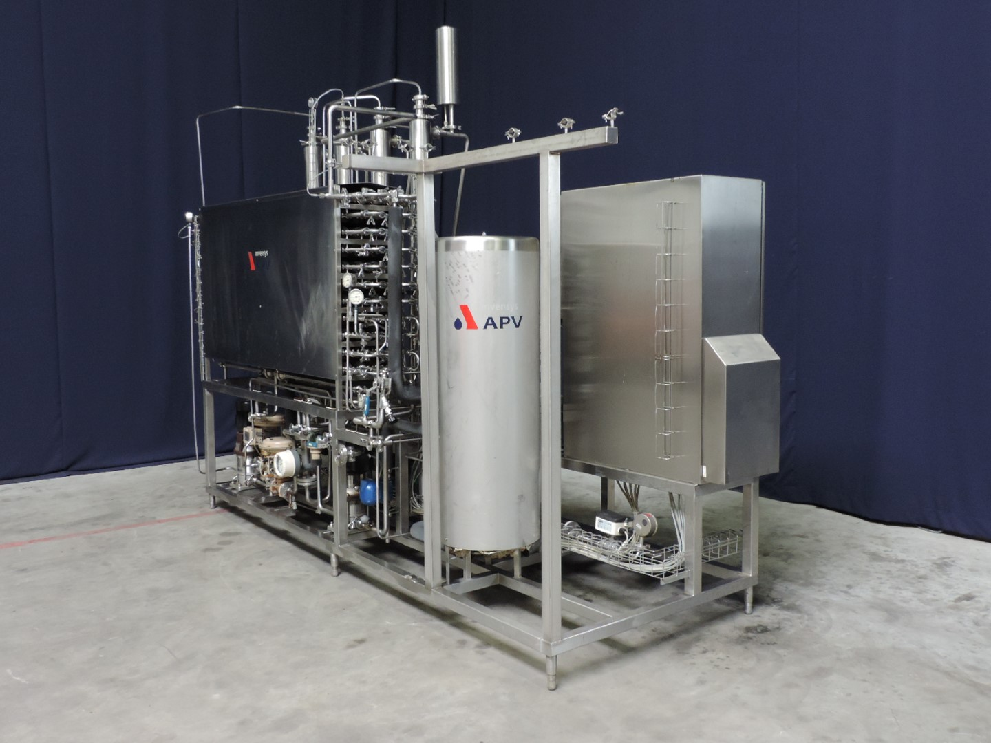 APV MP150  VT 460+ Scrape heat exchangers