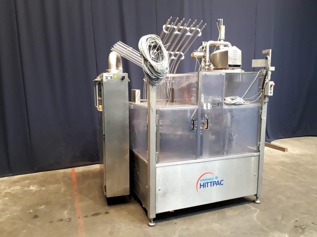 Grunwald Hittpac AKH-059/3 Cup filling machines