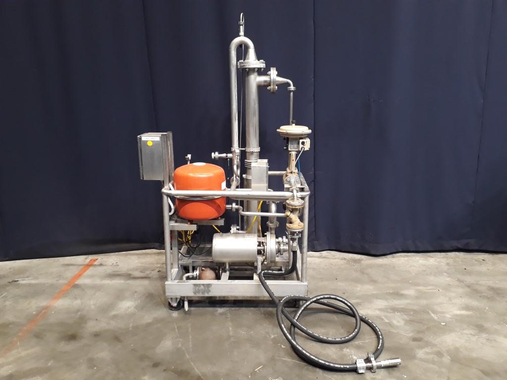 Tetra Pak Spiraflow Tubular heat exchangers not sanitary