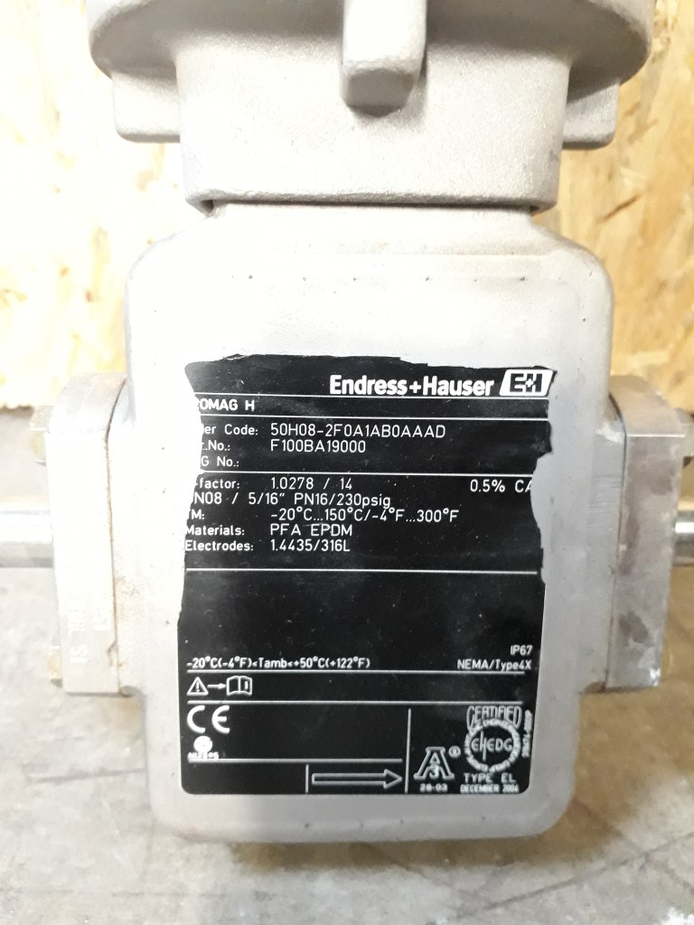 Endress & Hauser Promag H & Promag 50 Flowmeters