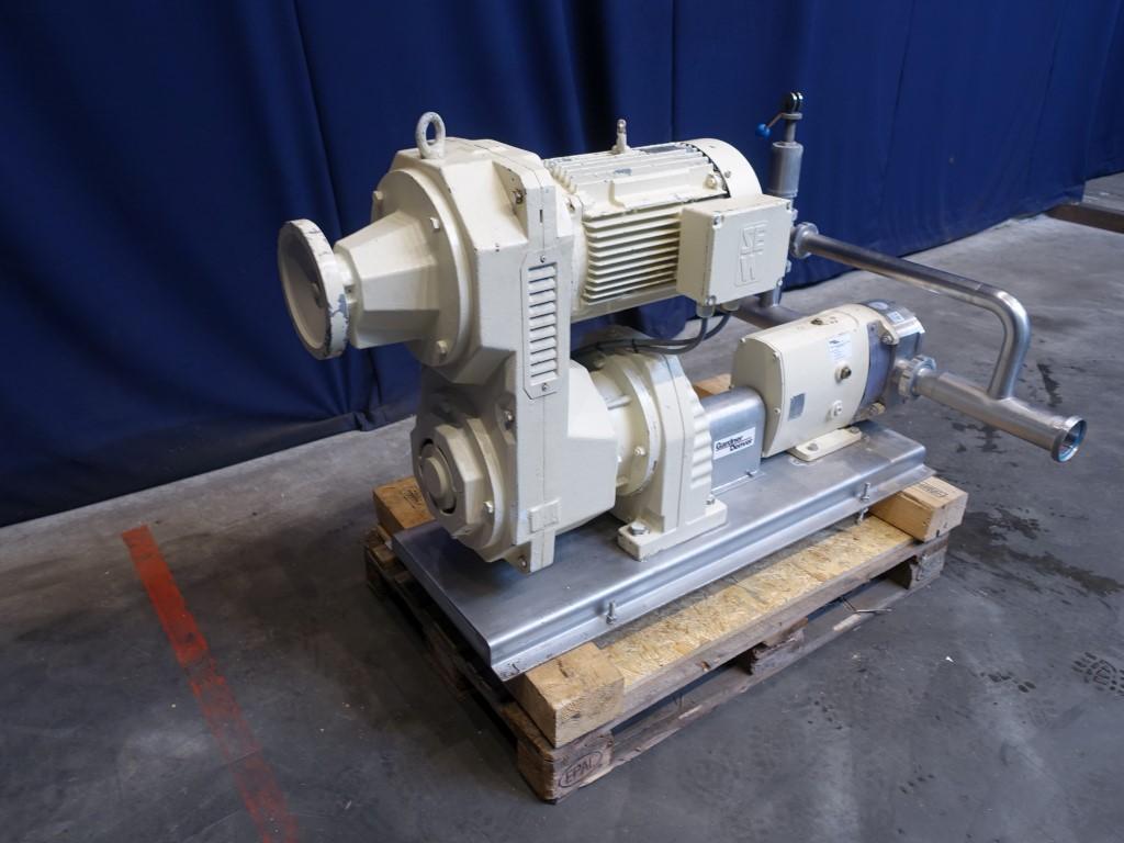 Ibex SRU4/079/LD Lobe rotary pumps