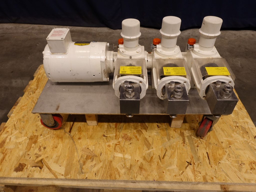 Bran + Lubbe P-33 Piston pumps