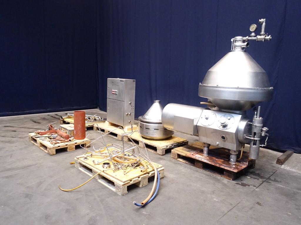 HMRPX 518 HGV-74C Cream separators