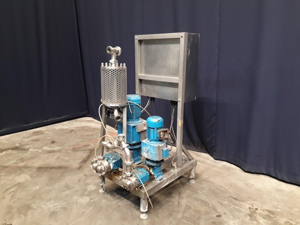 Waukesha Altec model 18 - 30 Inline mixers