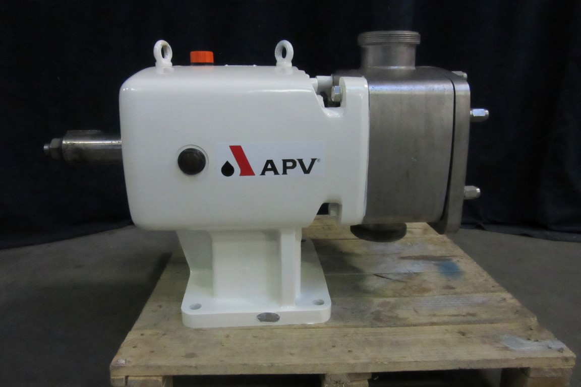 APV MC/4/292/10 Microbeclean Lobe rotary pumps