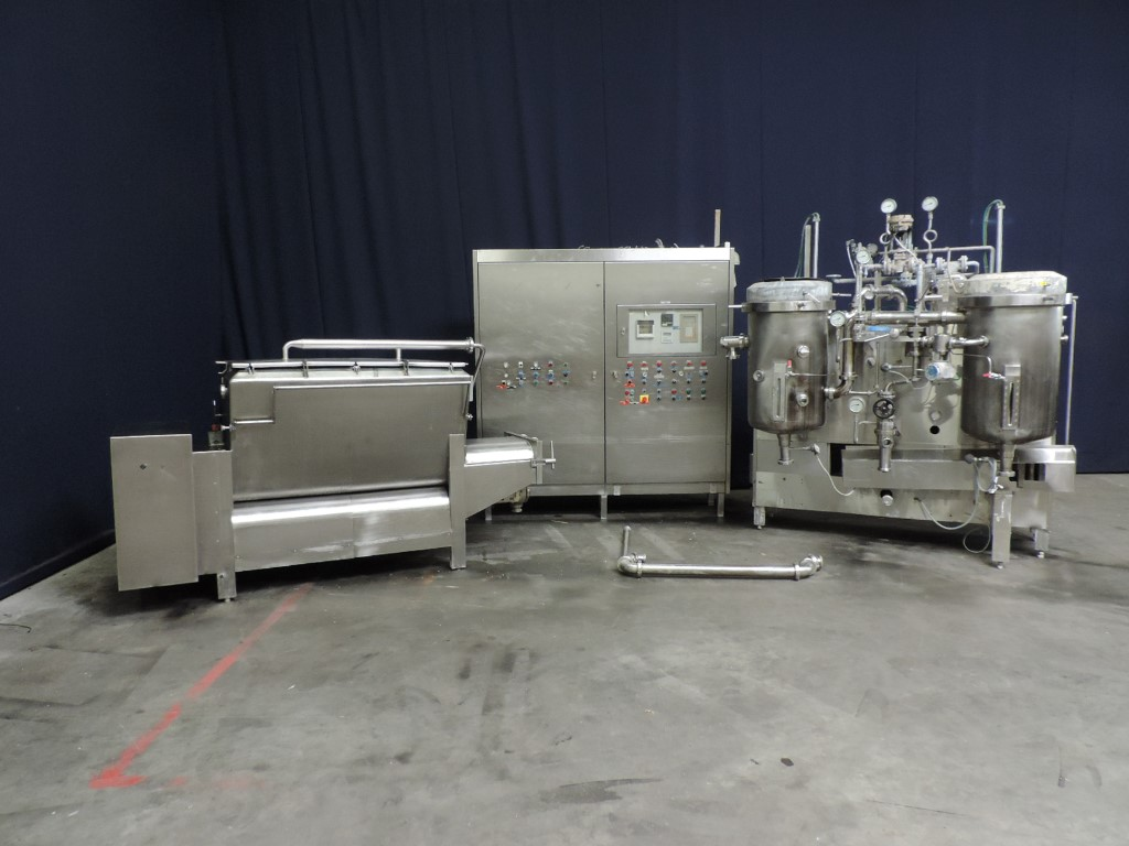 Kustner Sterilchoc FO Processed cheese equipment