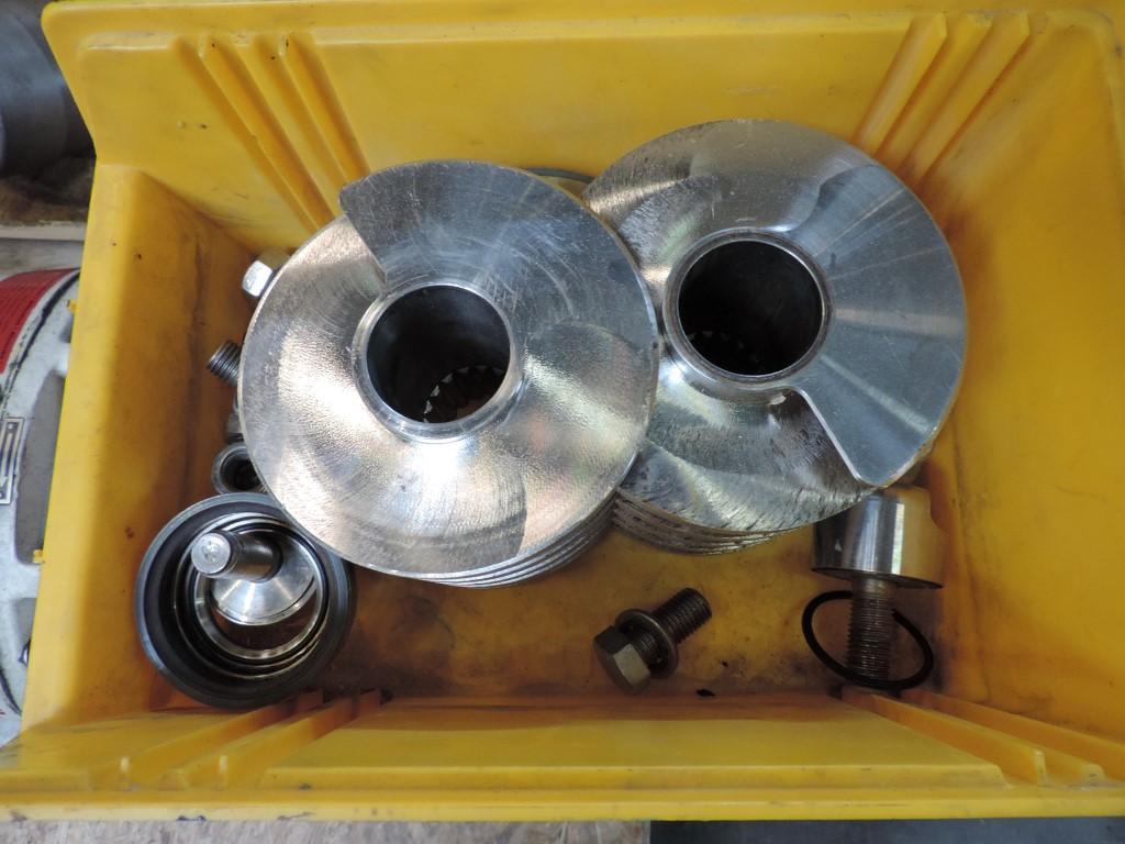 Bornemann SLH 125-23 Doppel-Schraubenspindelpumpen