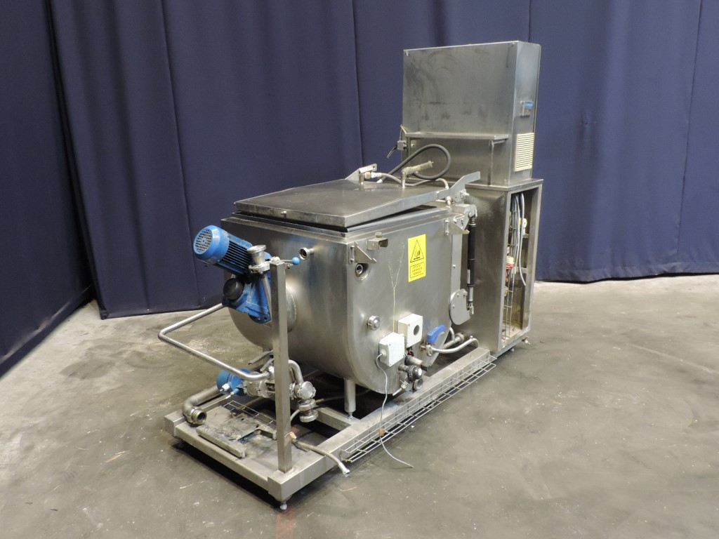 Packo Packed waste melter 300L Butter equipment