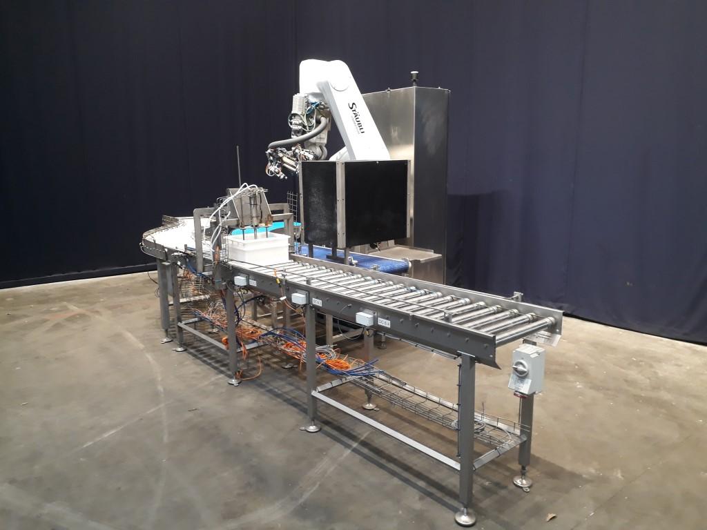 Stäubli RX160 Cheese equipment