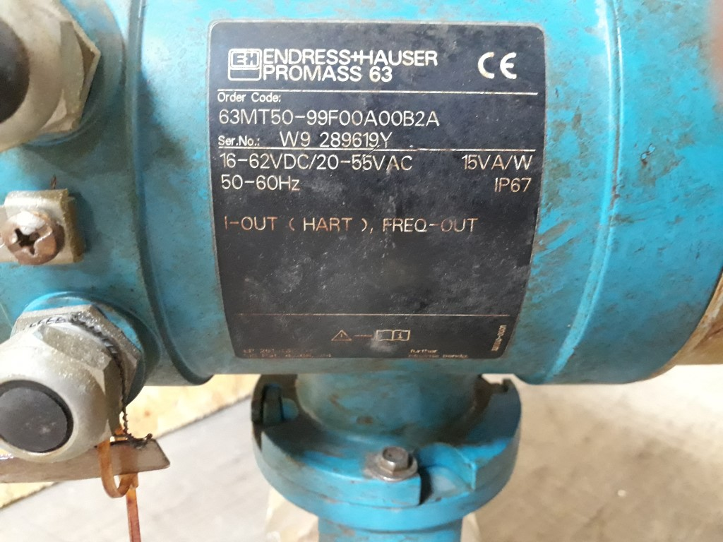 Endress & Hauser Promass 60M/63M & Promass 63 Flowmeters