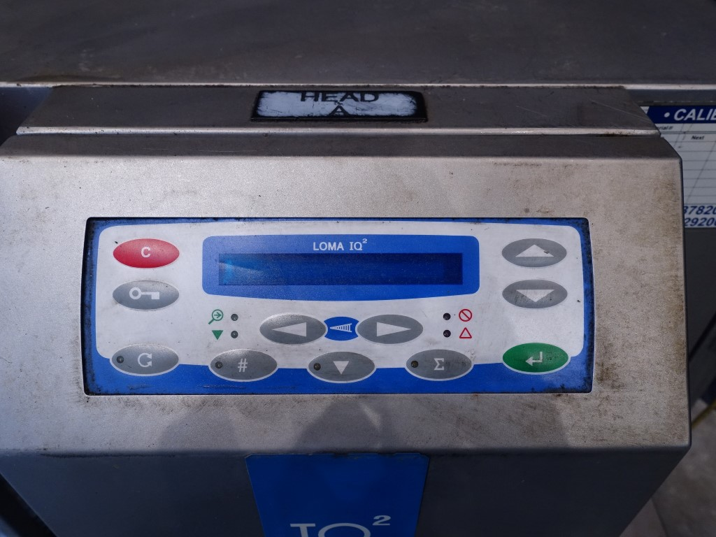 Loma IQ2 Metal detectors/Check weighers