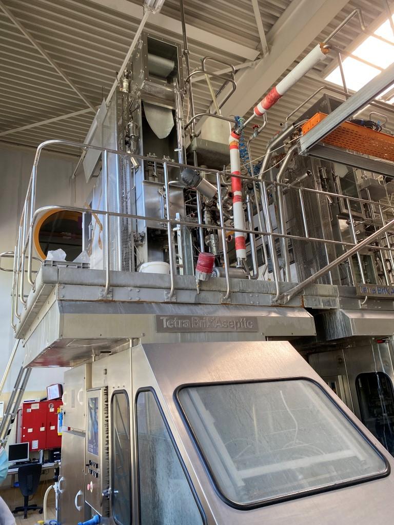 Tetra Pak TBA8 Aseptic filling machines