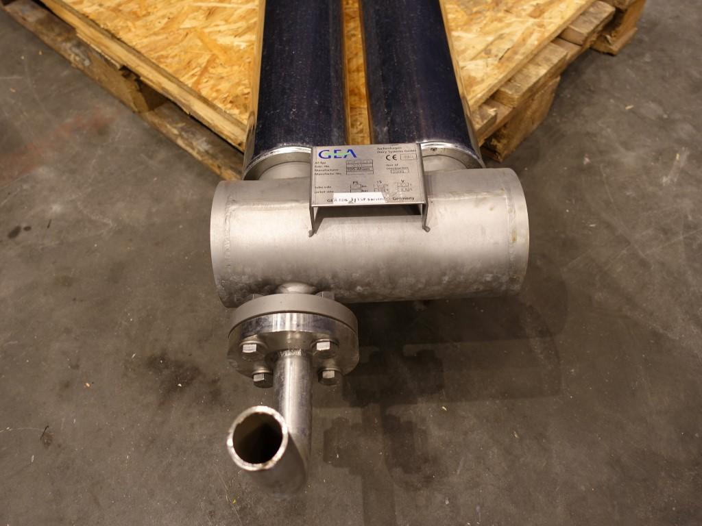 GEA VTHS 37-1,5 Tubular heat exchangers
