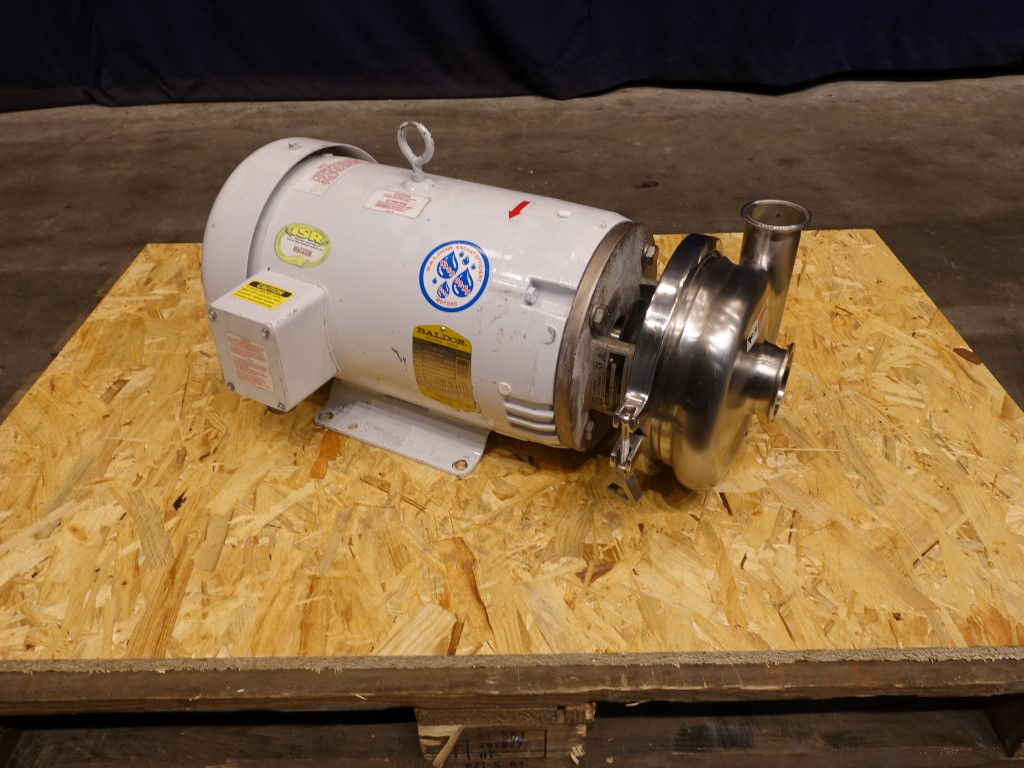 SPX - Waukesha - Cherry Burrell 2065 Centrifugal pumps