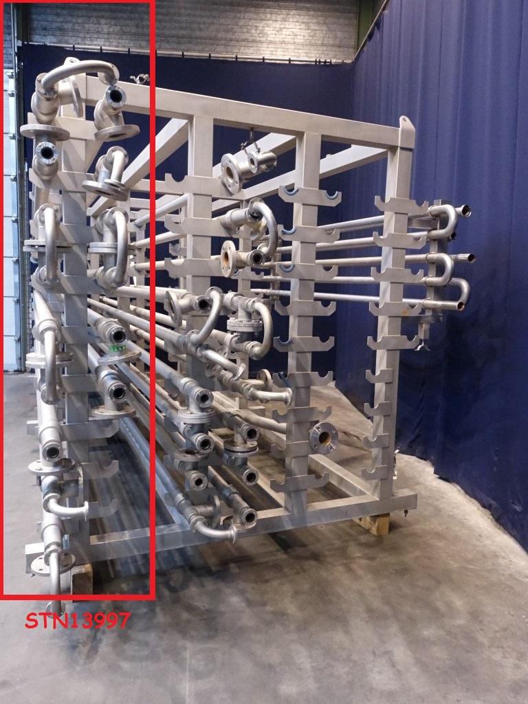 Alfa Laval 1x15VL01x38/76-6.0-304/316L-CD Tubular heat exchangers