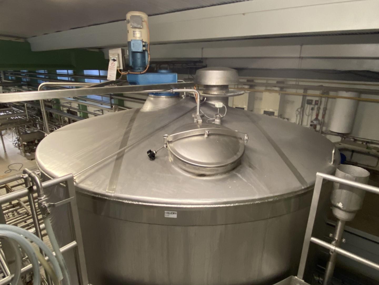 - Process tanks