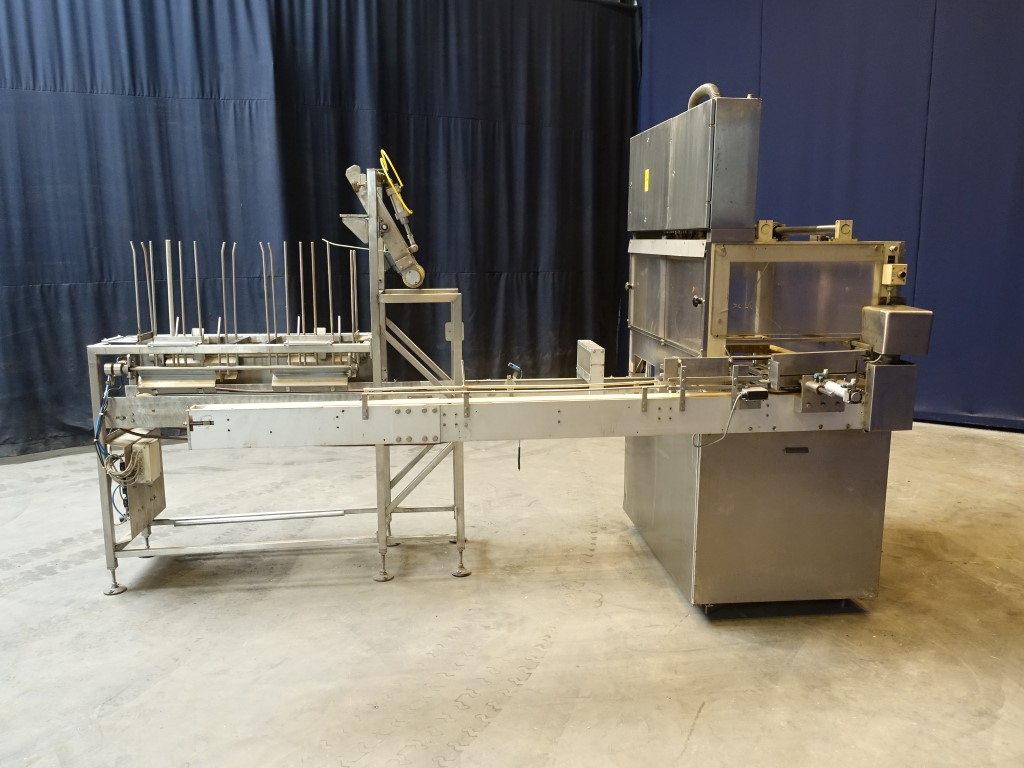 Weserhutte Pick and place packer WHP 4 In/verpakkers