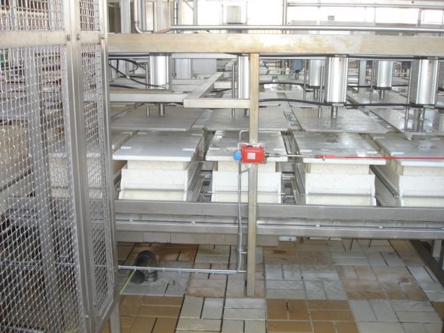 Klokslag Pawl conveyer press Cheese equipment