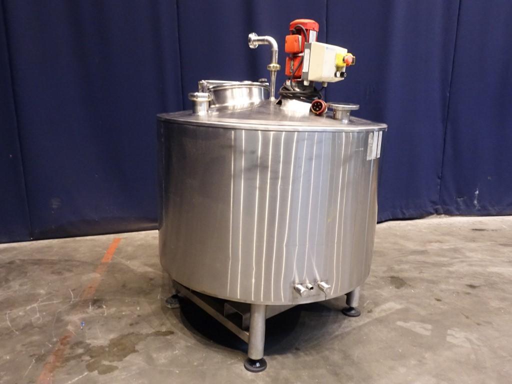 Serap 650L Process tanks