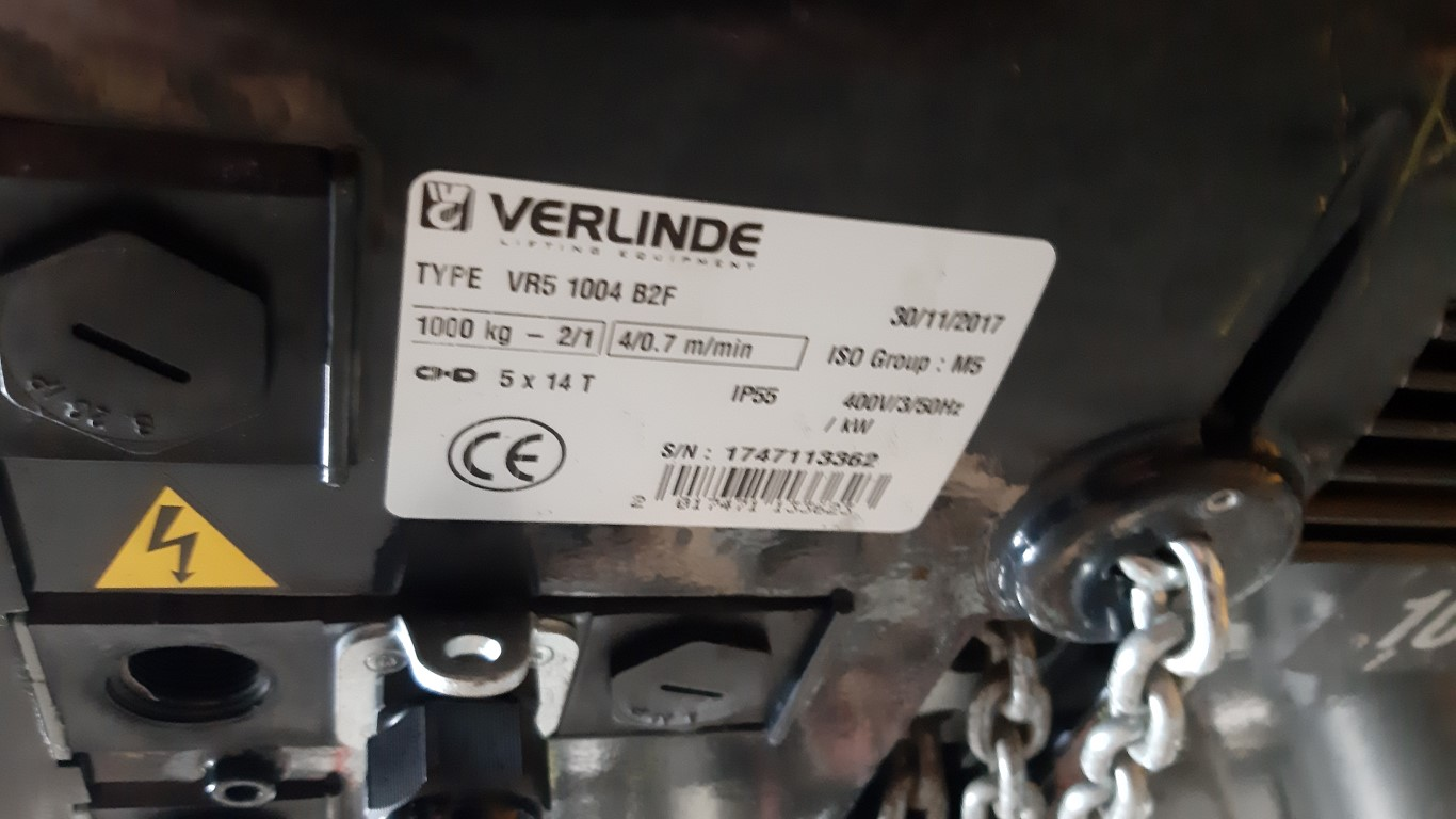 Verlinde VR5 1004 B2F Miscellaneous Equipment