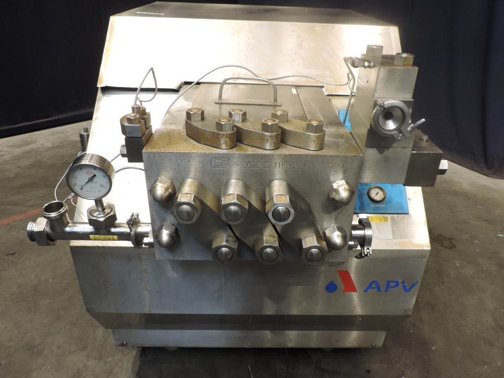 APV MS18-5TPS High pressure homogenisers