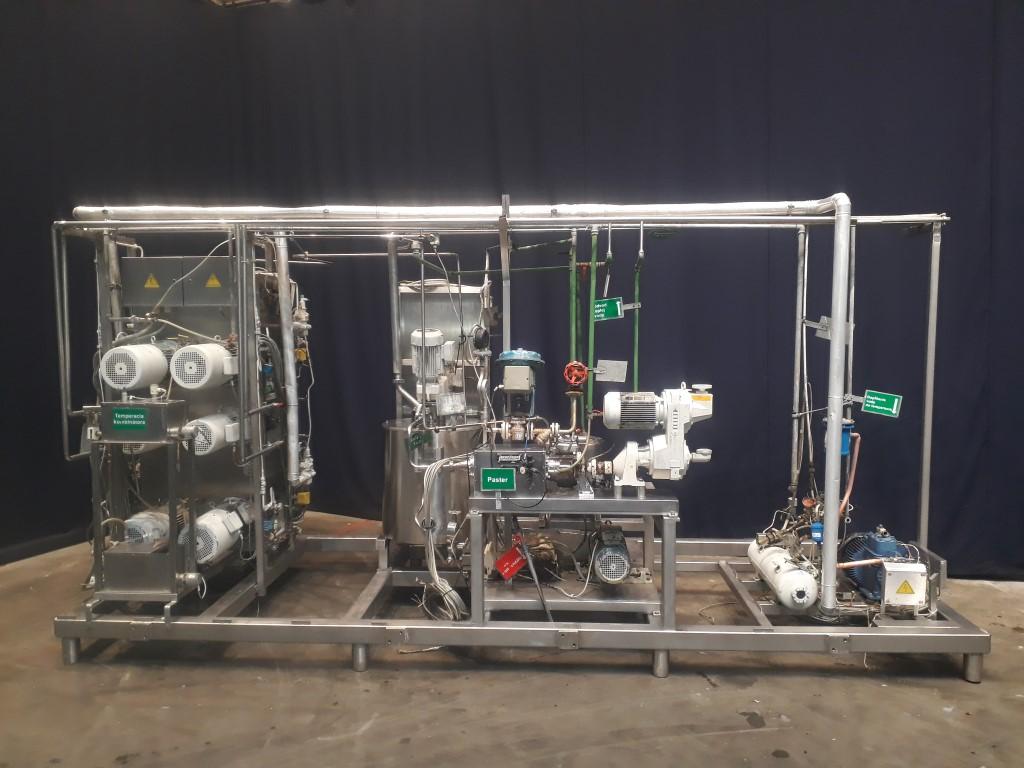 Schröder VS -Anlage Margarine equipment