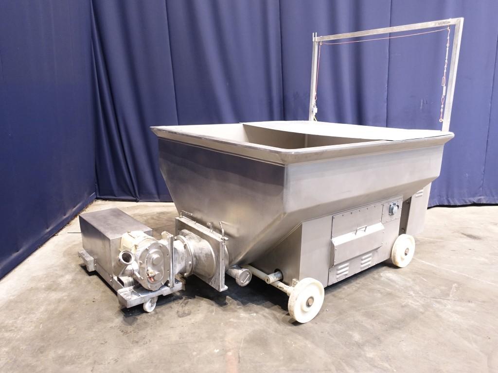 Hoeksma & Velt Open buttersilo Butter equipment