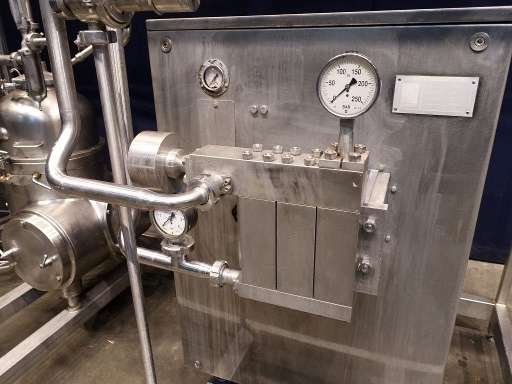 Bertoli M21G/B High pressure homogenisers