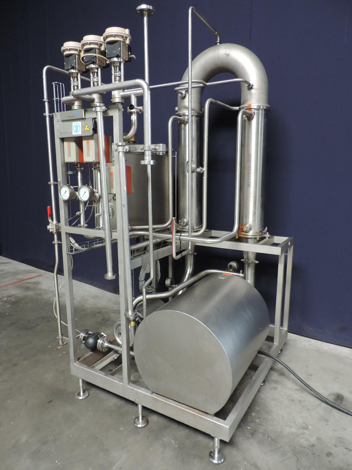 Tetra Pak Alcross M 1x38 Pilot Ultra filtration units