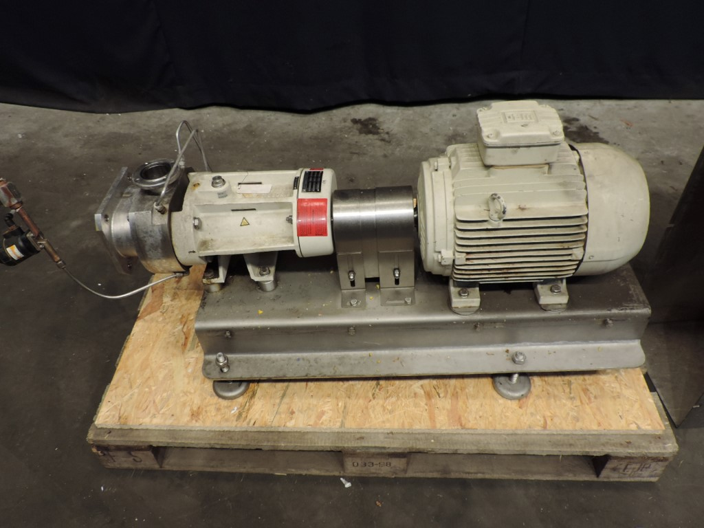 Bornemann SLH 80-20 Twin screw pumps
