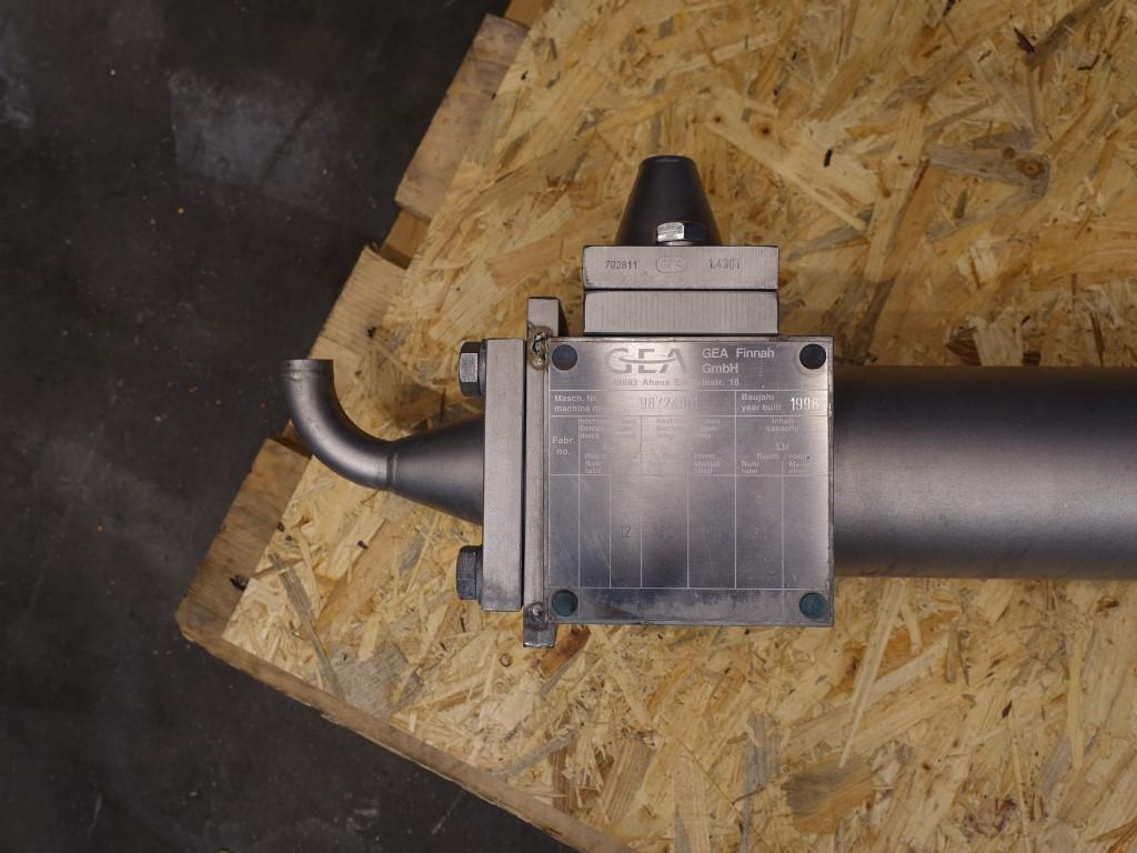 Finnah THE Tubular heat exchangers