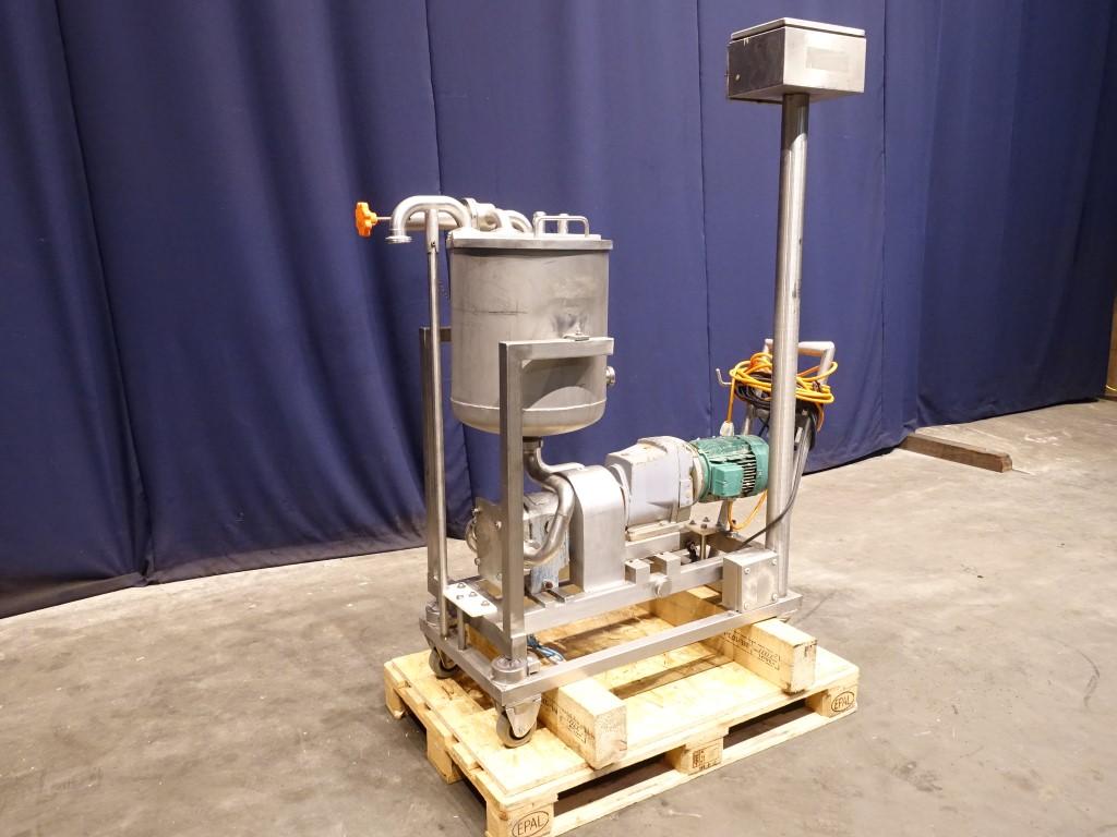 Crepaco R3R Lobe rotary pumps