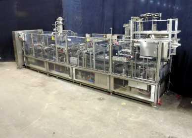 Grunwald FL6000/4 Cup filling machines