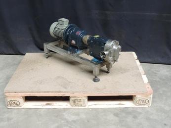 Waukesha 18 Lobe rotary pumps