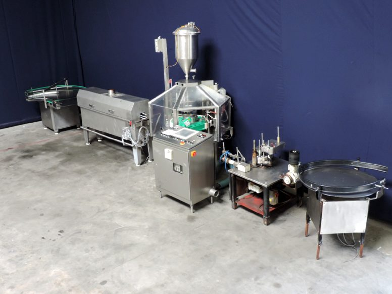 Hamba BF5012/2 Glass Bottle filling machines
