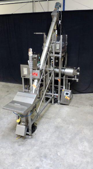 Simon Freres MXT 240/104 - Salt dosing and blending inline Butter equipment