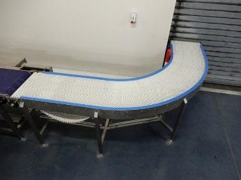 90 ° curved conveyor Transport conveyors