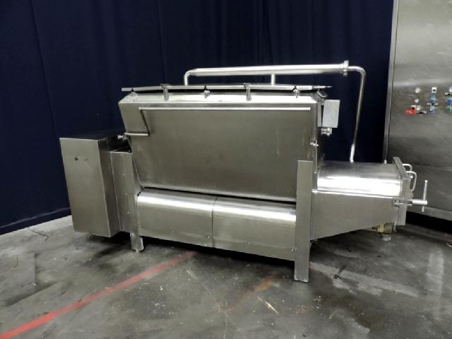 Kustner Mixing vat Processed cheese equipment