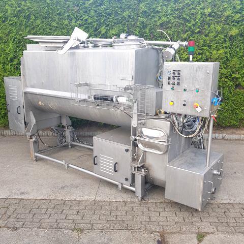 Tecnal MVF - Transmix 1200 Batch mixers