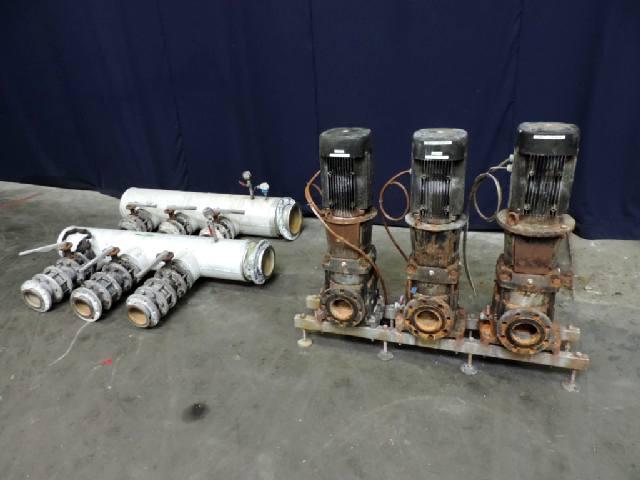 Grundfos CR64 - 1 - 1 A - F - A - E - HQQE Centrifugal pumps