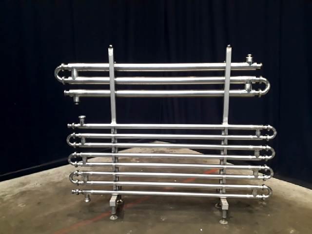 2,86 m2 Tubular heat exchangers