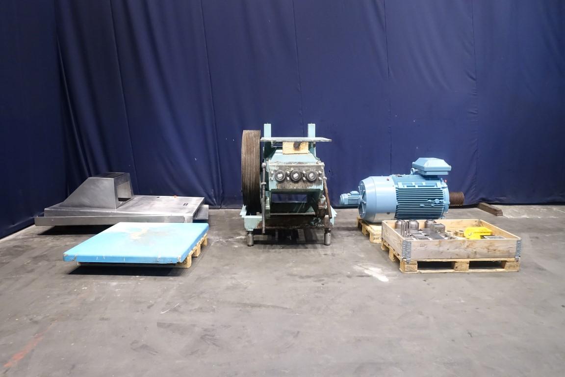 Rannie BT 50.79H High pressure homogenisers