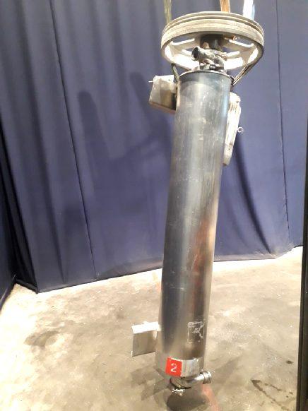 Alfa Laval Contherm 6x9 Scrape heat exchangers