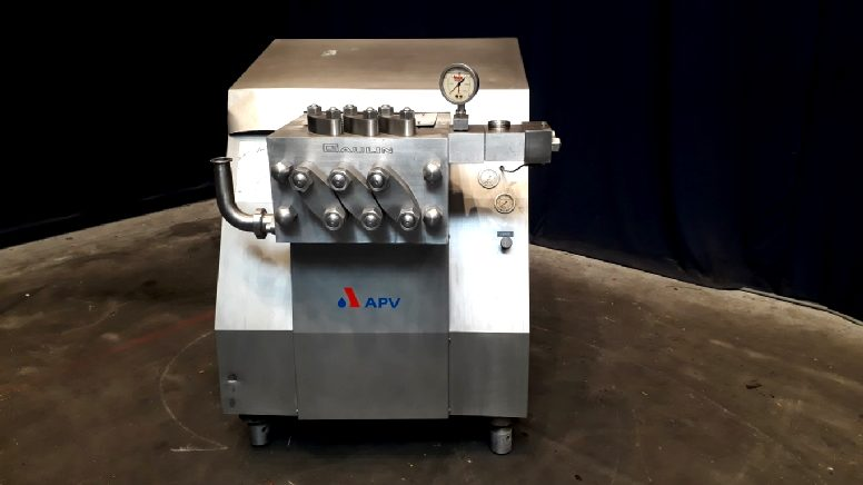 APV MC15-3TBS High pressure homogenisers