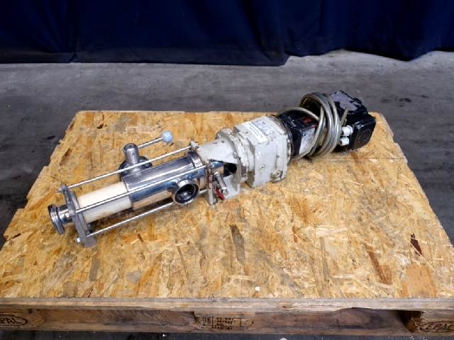 Hilge Universa-RM-25,1 Eccentric screw pumps