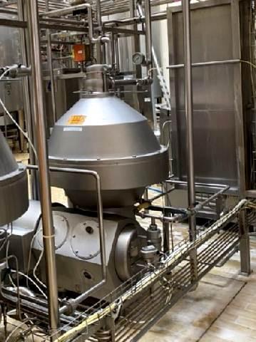 Alfa Laval MRPX 614-HGV-74C-50 Cream separators
