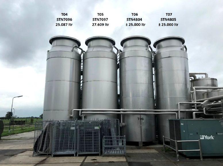 Holvrieka  Storage tanks
